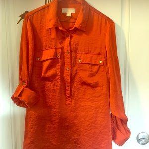 Michael Kors blouse long sleeve